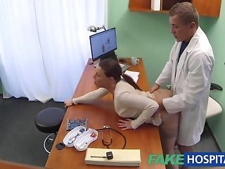 Faux polyclinic medic turns uber-sexy patient on to the restrain best sex