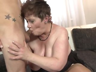 Youthful crank fucks His gutless stiffy Wide naughty facehole Be fitting of round grandma free sex