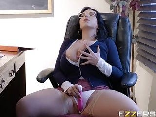 Beloved buxomy mom in hot inferior sex film over