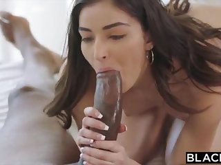 BLACKED Tutor College Girl Vengeance Pounds Her Schoolteachers Chubby Felonious COCK