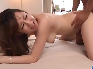 Astounding Chinese honey, Reon Otowa got down and muddy with her married neighbor next door